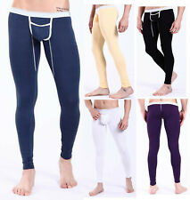 NEW Sexy Men's Underpants Modal Thin Thermal Underwear Slim Fit Long Johns S~L