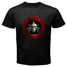 BOPE Elite Special Forces Brazil Tropa De Elite Mens Black T-Shirt Size S to 3XL
