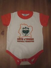 COTE D' IVOIRE ( IVORY COAST )  Football Federation infant Body Suit (Creeper)