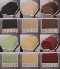 Heavy Non Slip Antimacassar Chenille Furniture Arm Cap and Chair Back Protectors