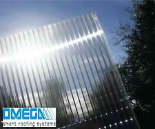 16mm Clear Polycarbonate Roofing & Glazing Sheets - Various Sizes