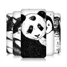 HEAD CASE DESIGNS HAND DRAWN ANIMAL PROTECTIVE HARD BACK CASE COVER FOR HTC ONE
