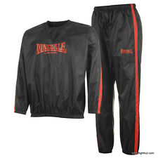 Lonsdale Lightweight Sauna Sweat Suit Mens Weight Loss Training (Boxing/MMA/UFC)