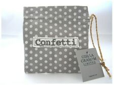GISELA GRAHAM COUNTRY WEDDING COTTON FAVOUR BAG CONFETTI SOLD FOR HOSPICE