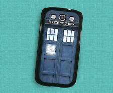 Doctor Who Tardis New Black Hard Case Samsung galaxy S3 S4