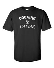 Cocaine & Caviar Hipsters with Swag DOPE HYPE WHITE PRINT Men's Tee Shirt 744