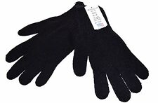 Wool Gloves Glove Liners Black Small - XL Made In USA New