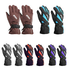 Ourdoor Sports Waterproof Winter Cold Ski Riding Motorcycle Warm Gloves Women