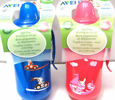 PHILIPS  AVENT  TRAINER SPOUT CUP  12oz/340ml   18M+    3 COLOURS   BPA