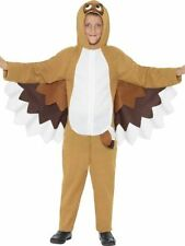 Childrens Funny Zoo Animal Wise Owl Book Week Fancy Dress Kids Costume Outfit