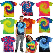 TIE DYE T SHIRTS ★ Sixties  Retro Indie Grunge Festival Fashion Tye dyed Hipster