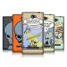 HEAD CASE ALL ABOUT ALIENS PROTECTIVE BACK CASE COVER FOR HTC WINDOWS PHONE 8S