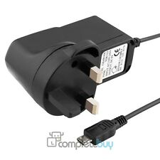 UK Plug Micro USB Travel Mains AC Home Wall Charger For Mobile Phones Tablet