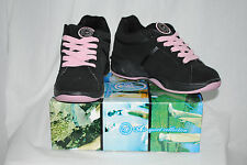NEW Big Girls Air Roller Shoes ONE Wheel Skate Black Pink 221 SPORT : 5-8