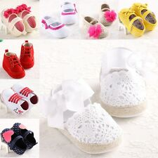 baby girls shoes sandal size 0-18 months soft anti-slip toddlers prewalk SU