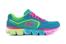 Skechers Go Run Ride Ultra 80685L/BLMT New Youth PS Kids Blue Running Shoes