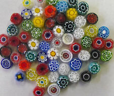 Millefiori from Murano. Transparent for mosaics glass art and craft 50g (1.76oz)