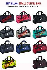 Nike Brasilia 6  Small Duffel Gym Bag Grip BA4831/4910-***