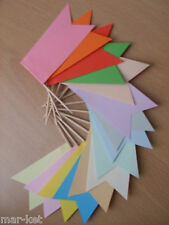 15 COLOUR CHOICE SANDWICH FOOD FLAGS PARTY BUFFET WEDDING PICKS DISPLAY CATERING