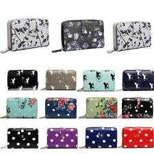 Ladies Designer Oilcloth Leather Long Purse Wallet Girls Coin Purse Handbag Bag
