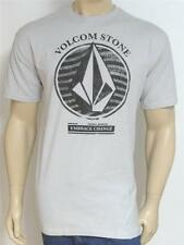 Volcom Stone Embrace Change Tee Mens Pale Gray T-Shirt New NWT
