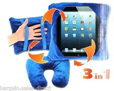 EZ 3 in 1 MULTI FUNCTIOANL iPAD KINDLE FIRE SAMSUNG GALAXY & TRAVEL PILLOW