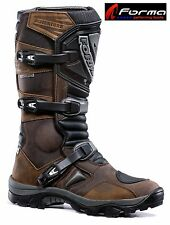 Forma ADVENTURE Mens Womens Kids Off Road Motorcycle Boots Brown or Black FOAD