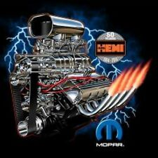 MOPAR Hemi 50 Year Anniversary T-Shirt Dodge Plymouth Hemi T-Shirts Med to 3XL