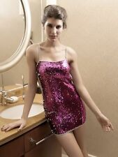 All Over Sequin Revealing Back Vegas New Years Eve Clubbing Dress