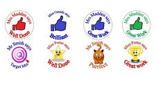 70 x Personalised Thumb Up Reward Stickers Teacher 3 for 2 Labels Label School