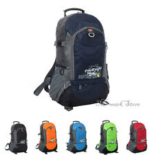 Man Women Sport Camping Hiking Travel Backpack Large Outdoor Bag F202-F207