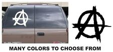 ANARCHY sticker decal RIGHTS big large anti government sons of guns skateboard A