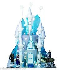 Disney Frozen Blue Ice Crystal Candy Cake Cupcake Topper  Birthday Girls Party