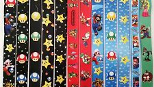 Super Mario Brothers Nintendo Lanyards Keychain ID Badge Holder Cell Phone Strap
