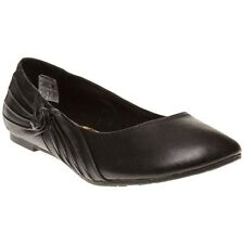 New Womens Rocket Dog Black Violet Synthetic Shoes Flats Slip On