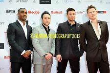 BLUE : Antony Costa, Lee Ryan, Duncan James, Simon Webbe