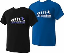 leicester t shirt football personalised  evolution Premier league  up to to 5XL