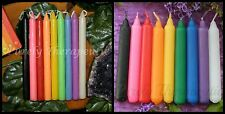 9x WISH RITUAL SPELL CANDLES~2 Hour Burn Time~9.5cm-12cm~Wicca~Witch~Pagan~Reiki