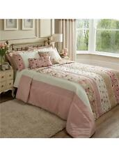 CATHERINE LANSFIELD IMOGEN DUSKY PINK DUVET COVER SET CURTAINS OR BEDSPREAD NEW
