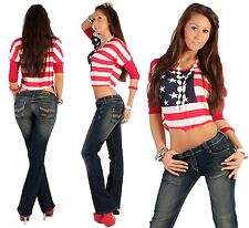 Jeans femme coupe bootcut taille basse XXS 32 - L 40