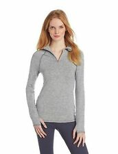 CALVIN KLEIN WOMENS PERFORMANCE QUICK DRY MELANGE HALF ZIP JACKET XS NWT $68+TAX