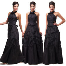 New Arrival Halter Elegant Quinceanera Formal Prom Pleated Dress Grace Karin JS