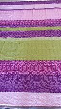 Purple Stripes 100% Cotton Waterbed Sheet Set Pole Attachment - all sizes