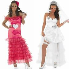 Ladies Gypsy Fancy Dress – Big Fat Gypsy Wedding Bride / Bridesmaid Costume