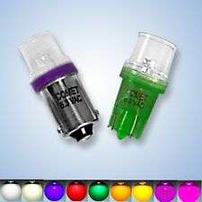 The BEST PINBALL/PROJECT LED BULBS 6.3V 25 PACK ALL COLORS & BASES only $.36 ea