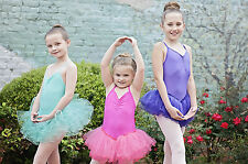 New Girls Ballet Dance  Tutu Party Leotard Skirt Dancewear Dress size 4-6