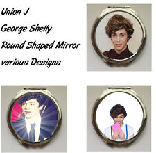 Union J George Shelly Round Shaped Compact Mirror (Various Designs)