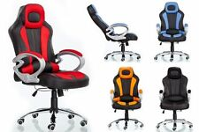 LUXURY RACING GAMING DESIGNER OFFICE CHAIR DESK CHAIR PLUS RECLINING FUNCTION