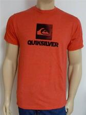 Quiksilver Ample Mens Shirt Red T-Shirt New NWT