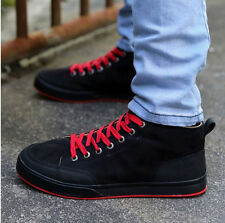 New Fashion England Men's High cowboys canvas casual shoes SS70